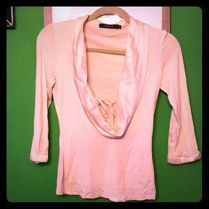 Arden B. Scoop neck blouse